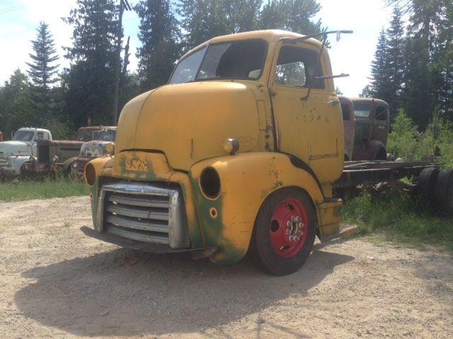 Custom Coe Trucks For Sale >> NO RESERVE 1947 1948 1949 1950 GMC COE Cabover Truck Cab Hot Rod Hauler project