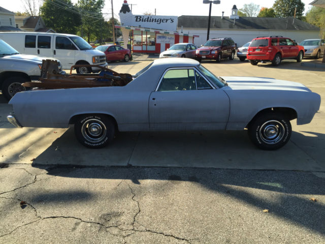 Project 1971 Chevrolet El Camino Custom with parts tach dash