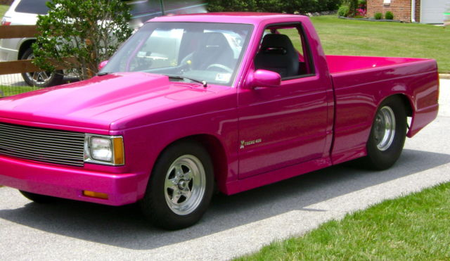S10 Bed Size >> Show pro touring pro street drag s10 pickup chevy Rodex high-end build