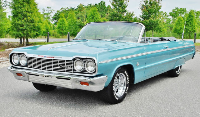 Show Quilty 409 Auto 1964 Chevrolet Impala Ss Convertible
