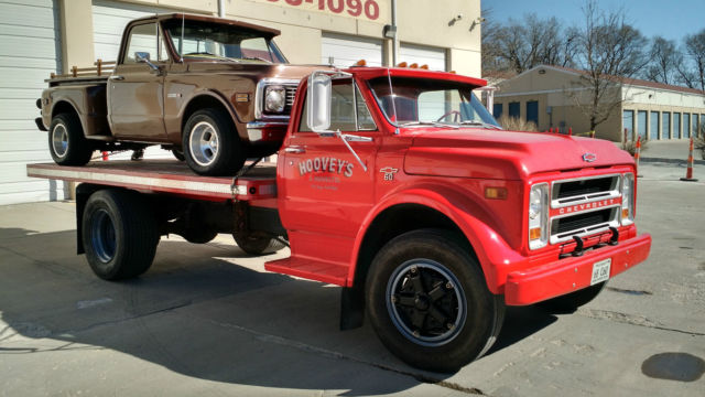 Very Nice 1968 Chevrolet C60 Series Truck With 16 Bed W