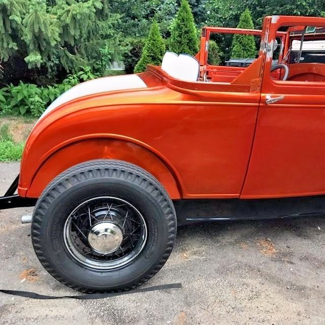 Vintage 1930 Ford Model A Sport Coupe Hot Rod Chopped