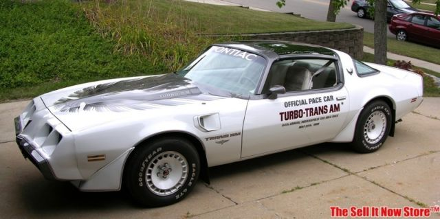 Vintage Garage Find Survivor 1980 80 Pontiac Turbo Trans Am Official Pace Car Ta