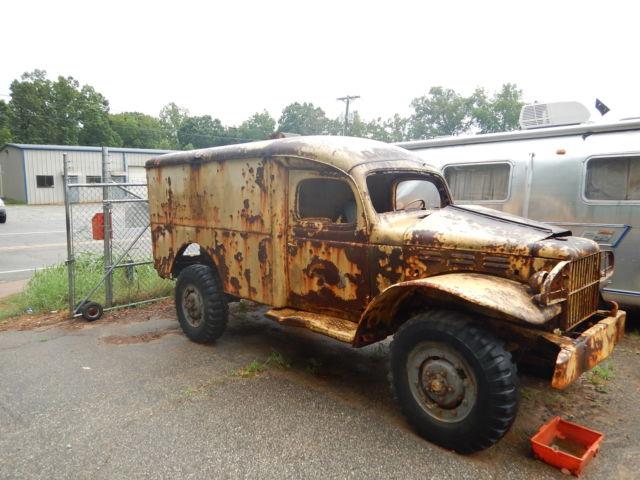 Ww2 1941 Dodge Wc 27 Field Ambulance